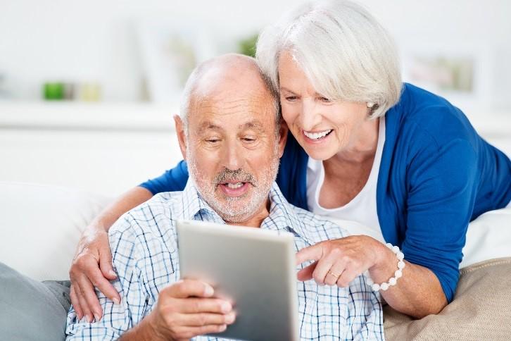 Der Erfolg der Tablets mit Touchscreen bei den Senioren