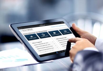 Tablets mit Touchscreen in Unternehmen: neues Tool für bessere Produktivität
